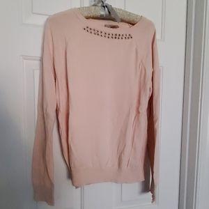 Pretty peach sweater